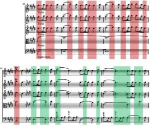 Mvt 3 E-major to minor theme