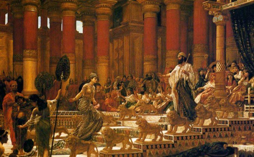 由分散和弦及上下行音階組成的無窮動|韓德爾(G.F. Handel, 1685-1759):示巴女王進場(Arrival of the Queen of Sheba)
