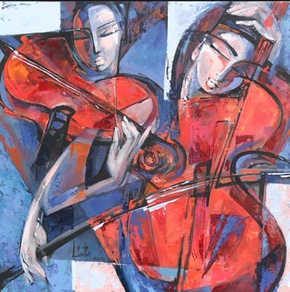 雙小提琴的模仿唱和|巴哈(J.S. Bach, 1685-1750):d小調雙小提琴協奏曲 BWV 1043