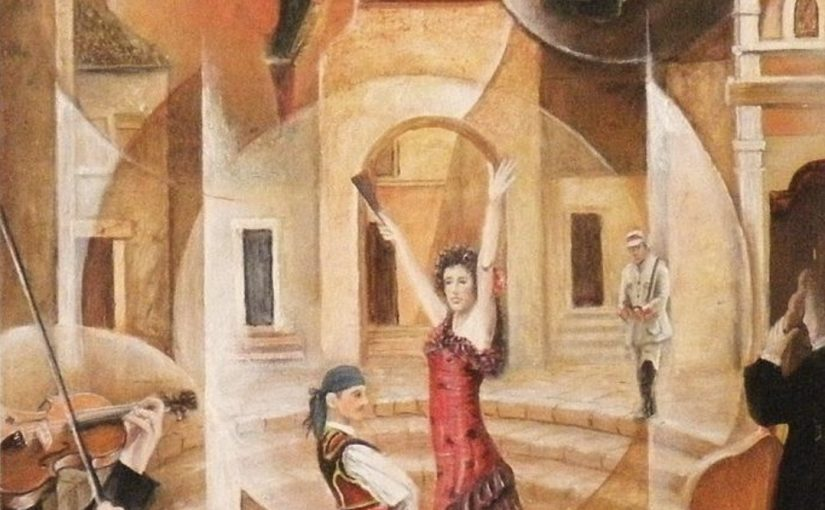 薩拉沙替(Sarasate, 1844-1908):卡門主題幻想曲(Fantaisie sur Carmen de Bizet) Op. 25