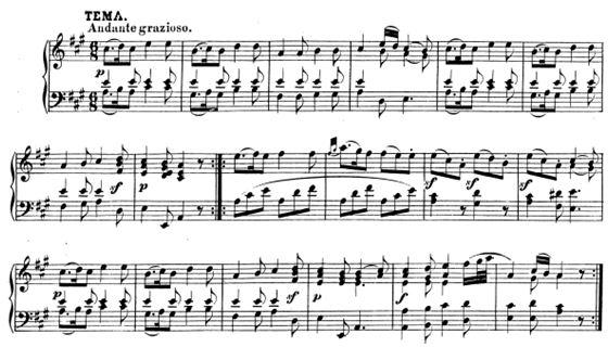 Mozart-K331-mvt1-theme