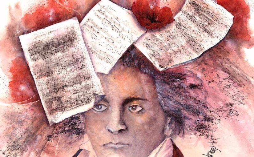 貝多芬(Beethoven, 1770~1827):降A大調第十二號鋼琴奏鳴曲Op. 26