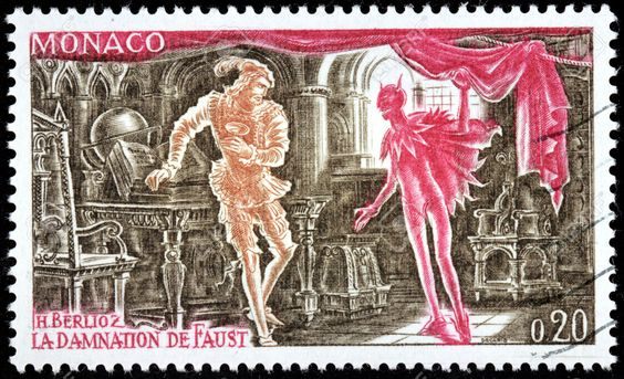 白遼士(Berlioz, 1803-1869):傳奇劇《浮士徳的天譴(La damnation de Faust)》中的三首著名管弦樂曲
