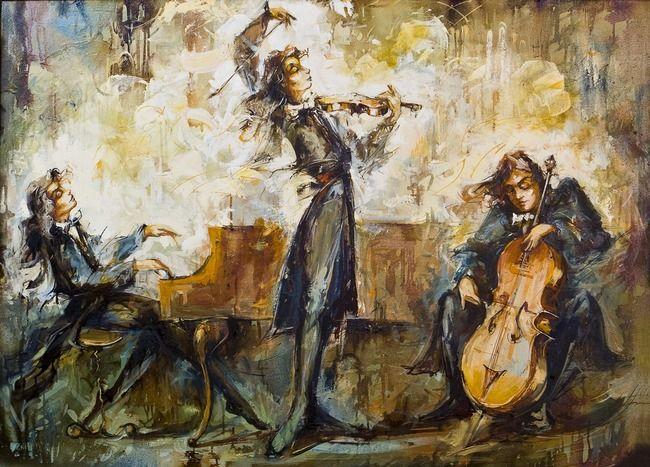 孟德爾頌(Mendelssohn, 1809-1847):第一號d小調鋼琴三重奏Op.49