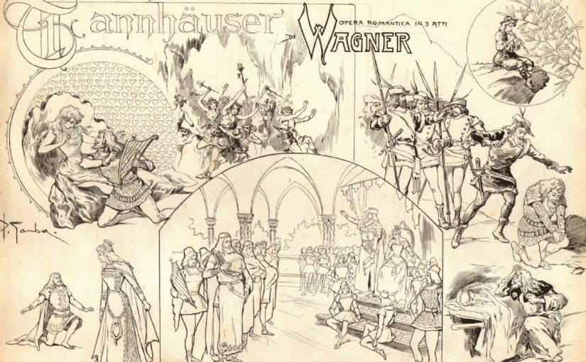 主題動機(idée fixe)及主導動機(leitmotif)|華格納(Wagner, 1813-1883):唐懷瑟(Tannhäuser)序曲