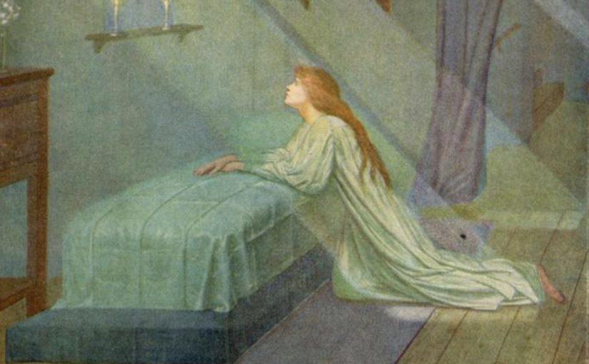 Tekla Bądarzewska-Badarzewska (1834-1861):少女的祈禱(The maiden's prayer)