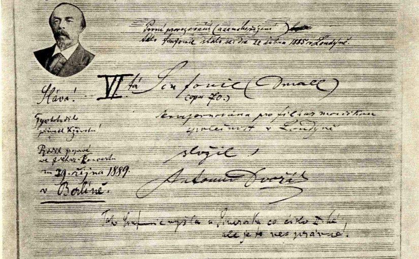 德弗札克(Dvořák, 1841-1904):第七號交響曲Op.70