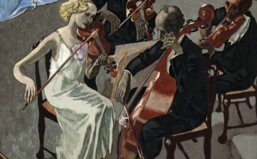 舒伯特(Schubert, 1797-1828):a小調第十三號弦樂四重奏「羅莎蒙」(Rosamunde) D804 Op. 29-1