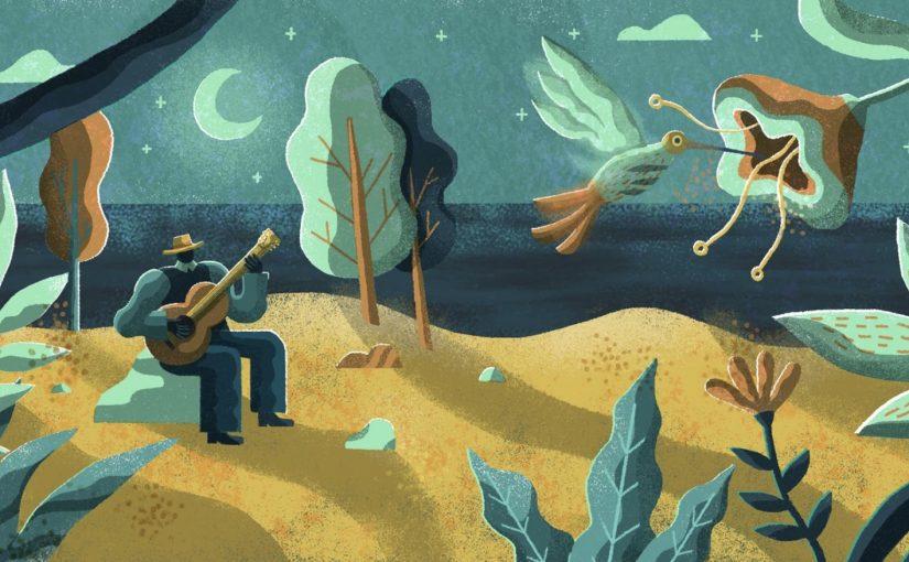 海托爾·維拉-羅伯斯(Heitor Villa-Lobos, 1887-1959):《第一首蕭羅曲》(Chôros No.1)